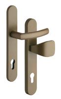 Bezpečnostné kovanie RX802-40/92 CORNO na profilové dvere